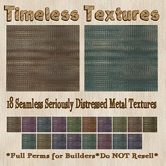 TT 18 Seamless Seriously Distressed Metal Timeless Textures