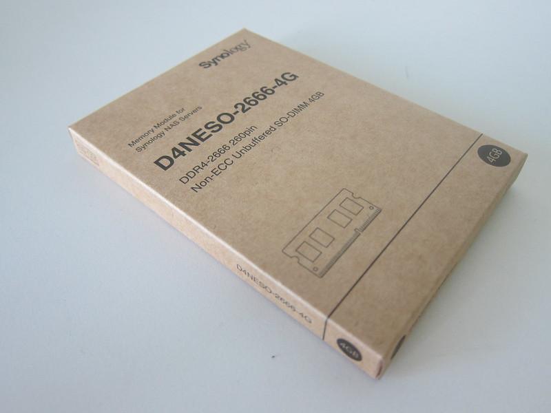Synology RAM D4NESO-2666-4G - Box