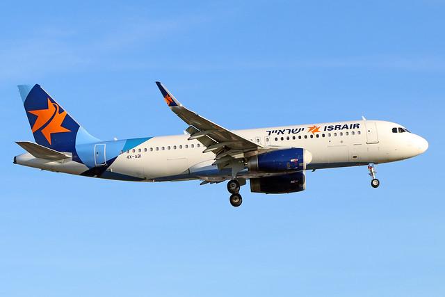 4X-ABI  -  Airbus A320-232 (SL)  -  Israir  -  LHR/EGLL 20-5-20