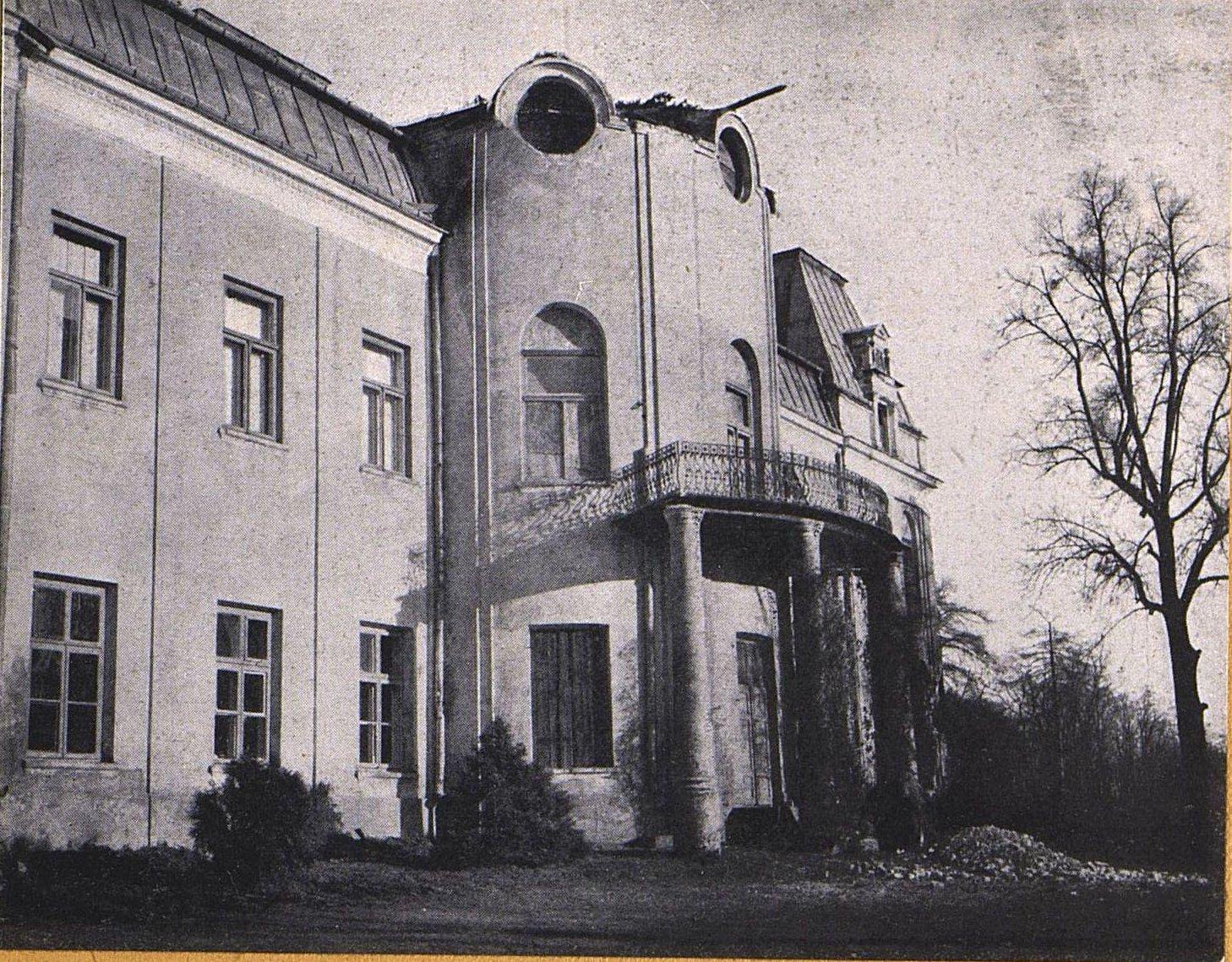 23. Вид части дворца Густава Блавдзевича в Новом-Месте