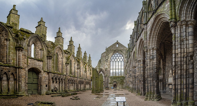 Holyrood Abbey (In Explore #9)