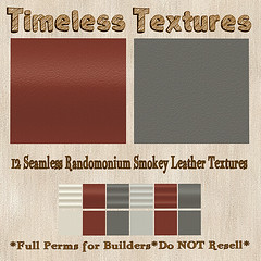 TT 12 Seamless Randomonium Smokey Leather Timeless Textures