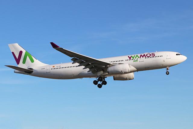 EC-NCK  -  Airbus A330-243  -  Wamos Air  -  LHR/EGLL 20-5-20