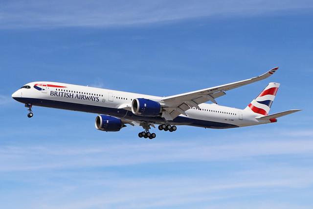 G-XWBF  -  Airbus A350-1041  -  British Airways  -  LHR/EGLL 20-5-20