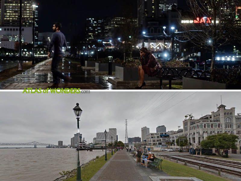Crescent City scene