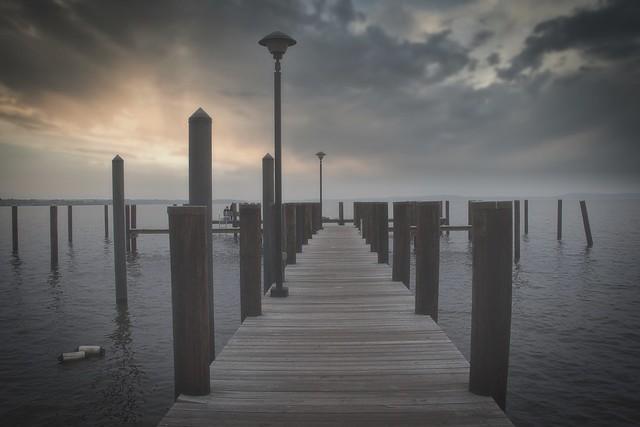 Threatening weather. Havre de Grace, Maryland
