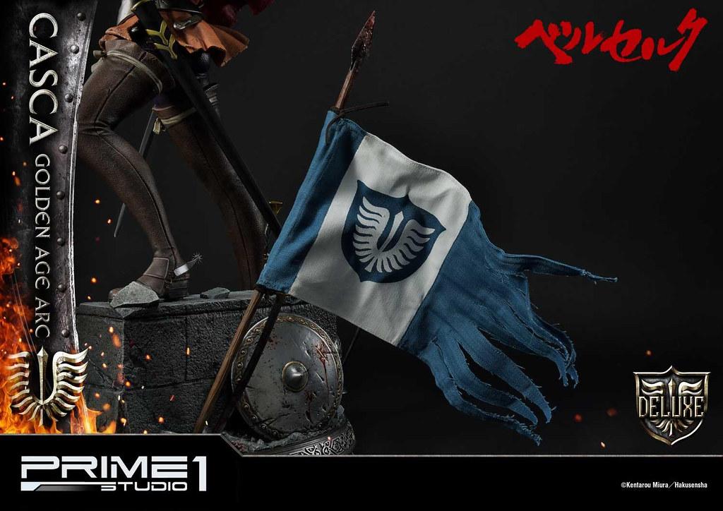 鷹之團女傑終於參戰! Prime 1 Studio《烙印勇士》喀絲卡 黃金時代(ベルセルク キャスカ 黄金時代)UPMBR-15 1/4 比例全身雕像 普通版/DX版