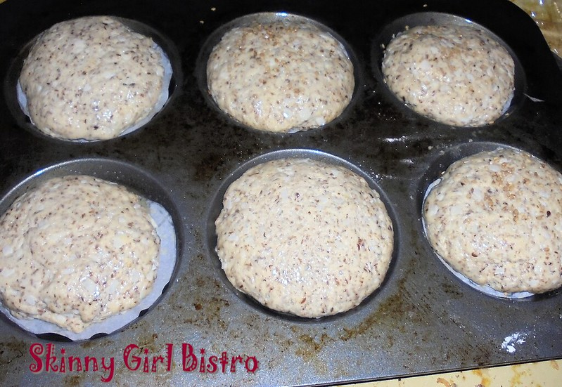 Photo: Sandwich buns rising in muffin top pan