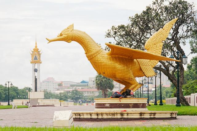 L'oiseau d'or sacré