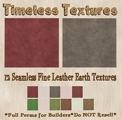 TT 12 Seamless Fine Leather Earth Timeless Textures