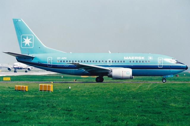 Maersk Air | Boeing 737-500 | OY-APH | London Gatwick