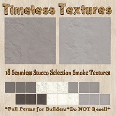 TT 18 Seamless Stucco Selection Smoke Timeless Textures