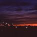 sunset over Fargo
