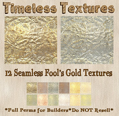 TT 12 Seamless Fool's Gold Timeless Textures