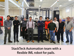 StackTeck introduces IML robots in FastTrack programme