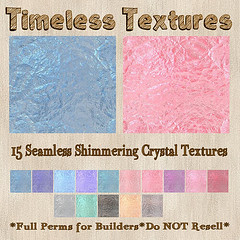TT 15 Seamless Shimmering Crystal Timeless Textures
