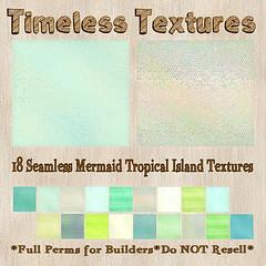 TT 18 Seamless Mermaid Tropical Island Timeless Textures