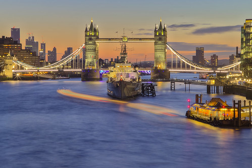 towerbridge london uk hmsbelfast sunrise thames andreapucci