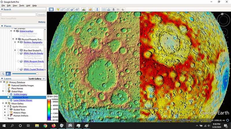 Moon Topography Improvement