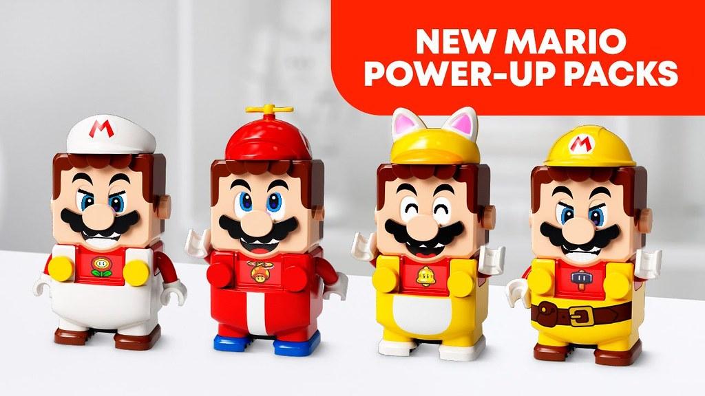 讓你的水管工更加多變! LEGO 71370~71373《樂高超級瑪利歐》力量升級包發表!(LEGO Super Mario Power-Up Packs)以更多種方式來收集金幣吧~