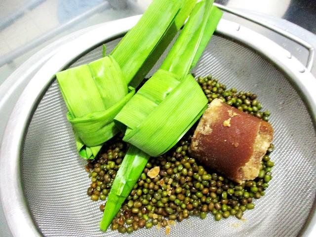 Pandan and gula Melaka
