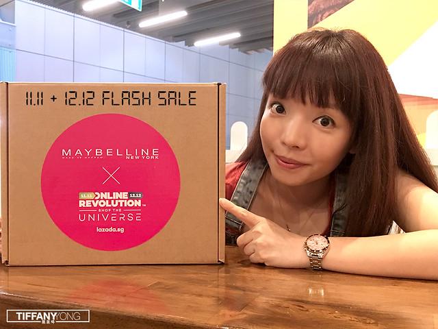 Lazada x Maybelline Online Revolution Tiffany Yong