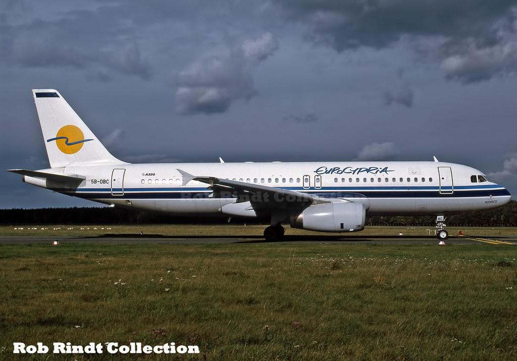 EuroCypria A320-231 5B-DBC