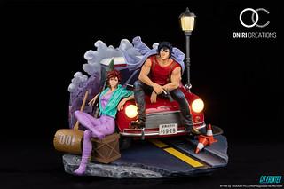 又色又強的男人浪漫!Oniri Creations《城市獵人》35週年紀念雕像 1/6比例(CITY HUNTER 35TH ANNIVERSARY STATUE)