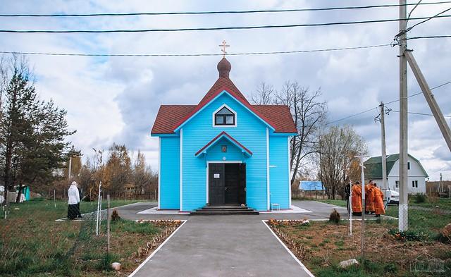18 мая 2020 г. Престольный праздник Ириновского храма