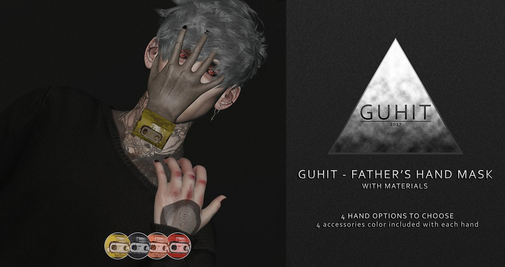 GUHIT - Father's Hand Mask @ Outre Event