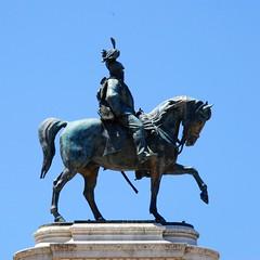 Equestrian statue of Victor Emmanuel II, Vittoriano