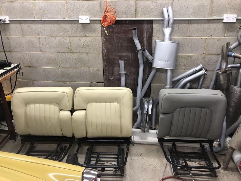 Rover P5 Seats