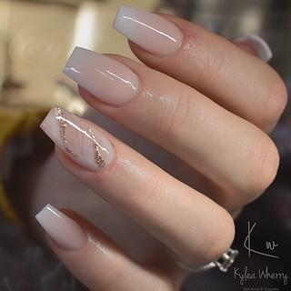 simple yet elegant nail art  shaadiwish delhi  flickr