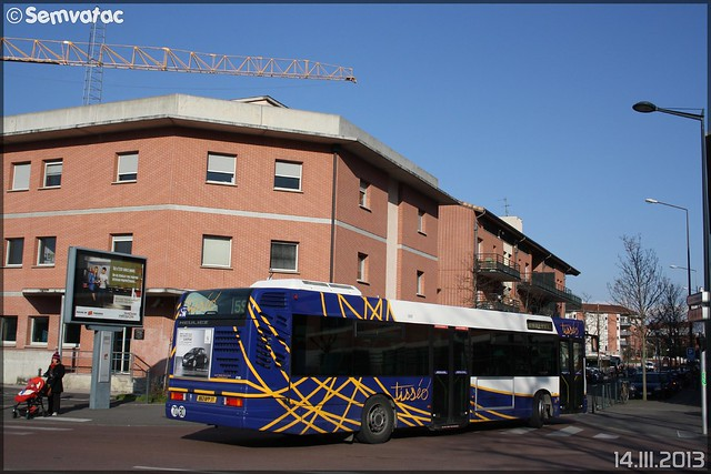 Heuliez Bus GX 317 – Tisséo n°0105