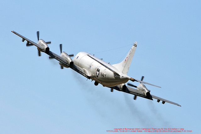 157319 LMML 15-06-2013 United States - US Navy (USN) CN 285A-5534 Lockheed P-3C Orion