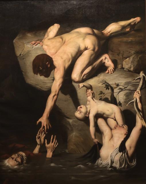 Une scène de déluge (1827)