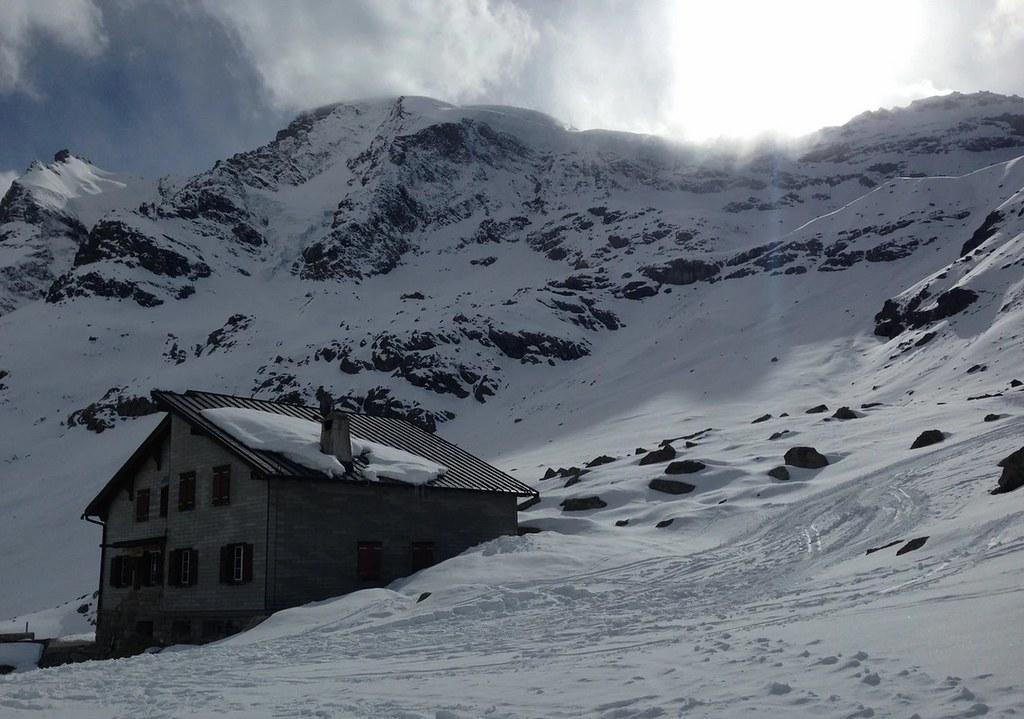 Chamanna Boval / Bovalhütte Bernina Schweiz foto 05