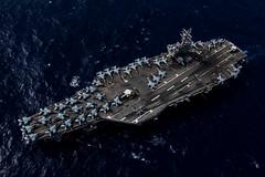 USS Ronald Reagan (CVN 76) file photo. (U.S. Navy/MC2 Kaila V. Peters)