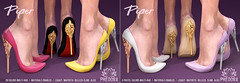 "Phedora. for Belle. Events ~ ""Piper"" Heels ♥"