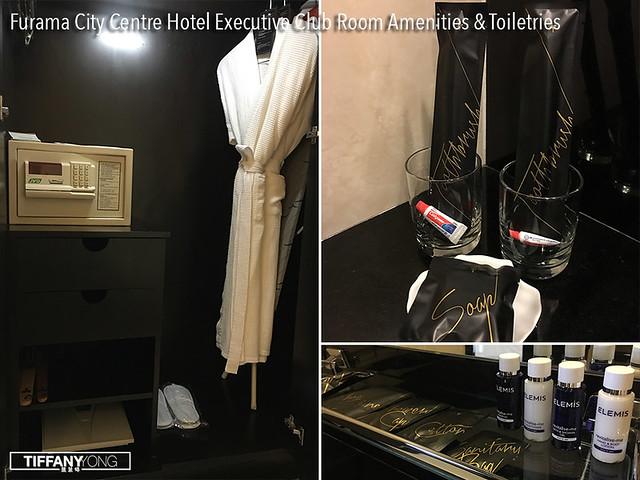 Furama City Centre Hotel Executive Club Toiletries