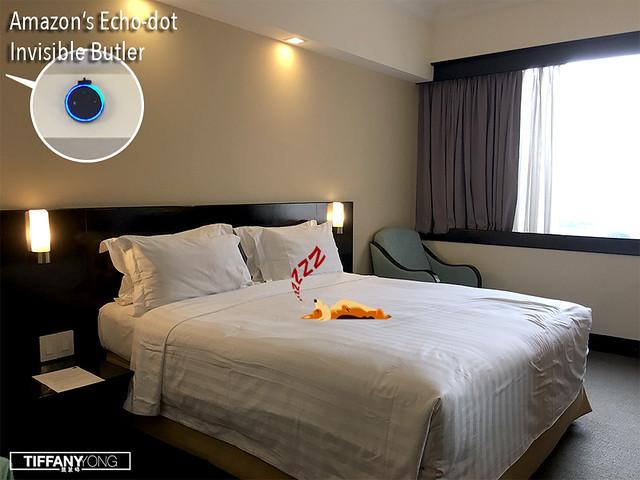 Furama City Centre Hotel Echo Dot Invisible Butler