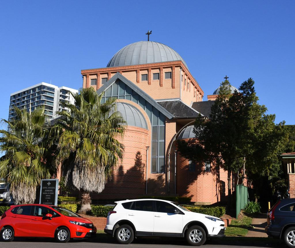Coptic Orthodix Church, Rhodes, Sydney, NSW.