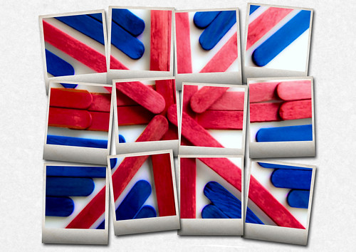 Union Jack - POLAROID-FRAMES | by Ray Duffill