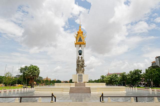 Monument de l'amitié khméro-vietnamienne