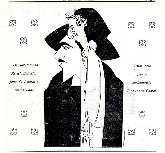 Ilustração antiga | vintage illustration | Portugal 1930s