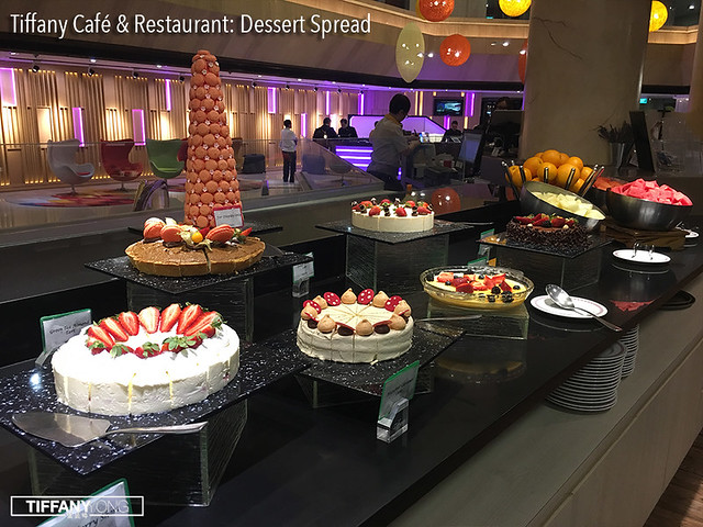 Tiffany Cafe Chinatown Dessert Spread