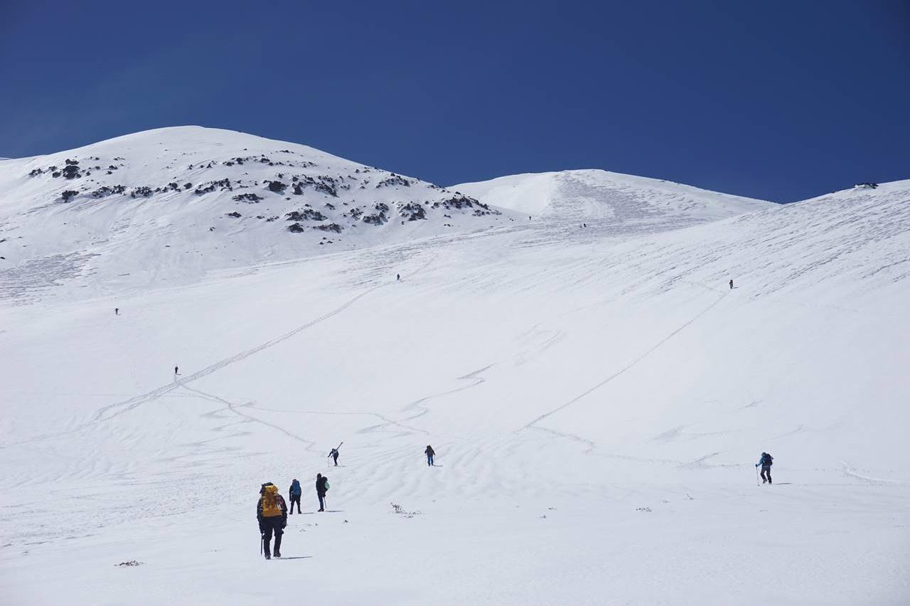 【北アルプス】冬の乗鞍岳 雪山登山