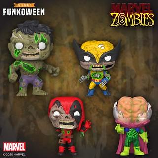 獵奇噁爛的英雄殭屍襲來! Funko Pop! Marvel、Pop! Keychain、Mystery Minis《漫威活死人》Marvel Zombies 多款新作發表!