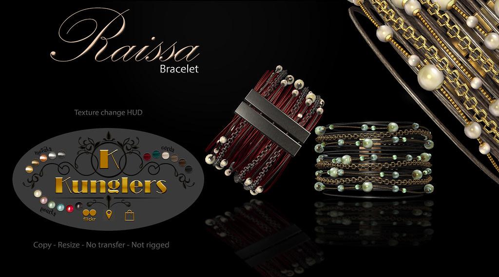 KUNGLERS – Raissa bracelet