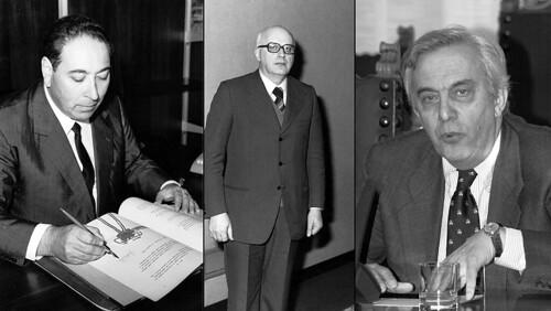 Alfredo Berzanti (Foto Sirpac), Antonio Comelli (Foto Sirpac), Adriano Biasutti